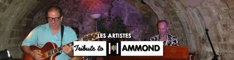 tribute to hammond - les artistes
